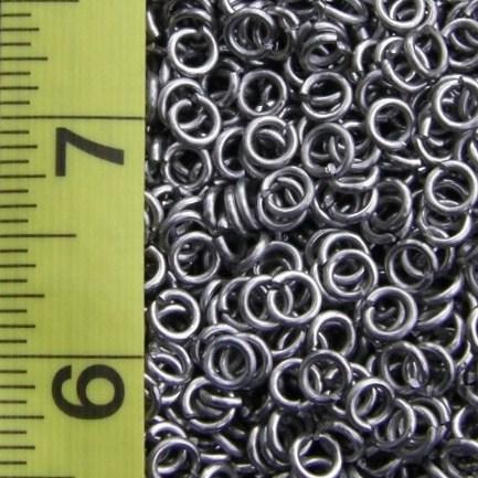 18 Gauge 1/8 ID Aluminum Jump Rings