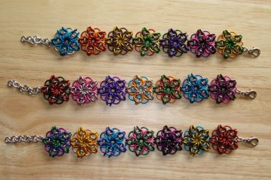Free chain maille patterns