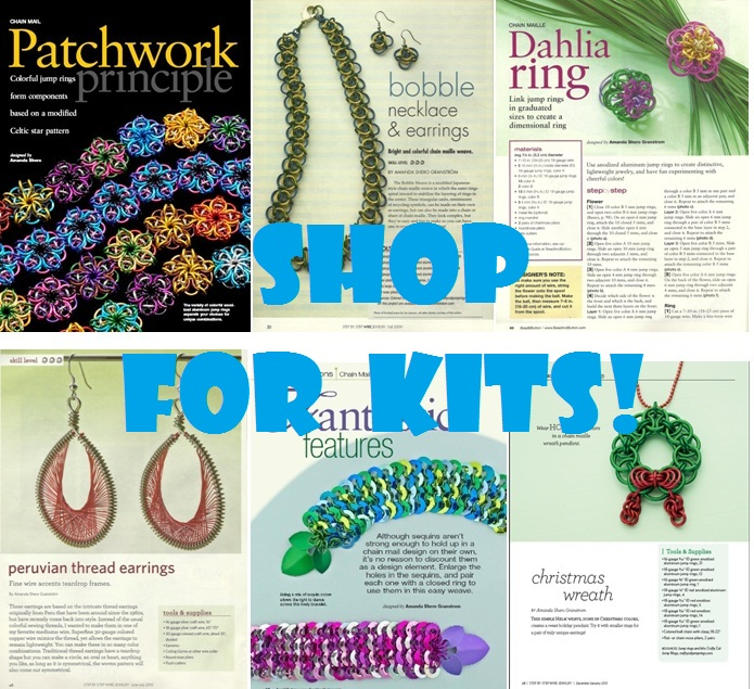 Chainmaille Kits by Crafty Cat for Sale